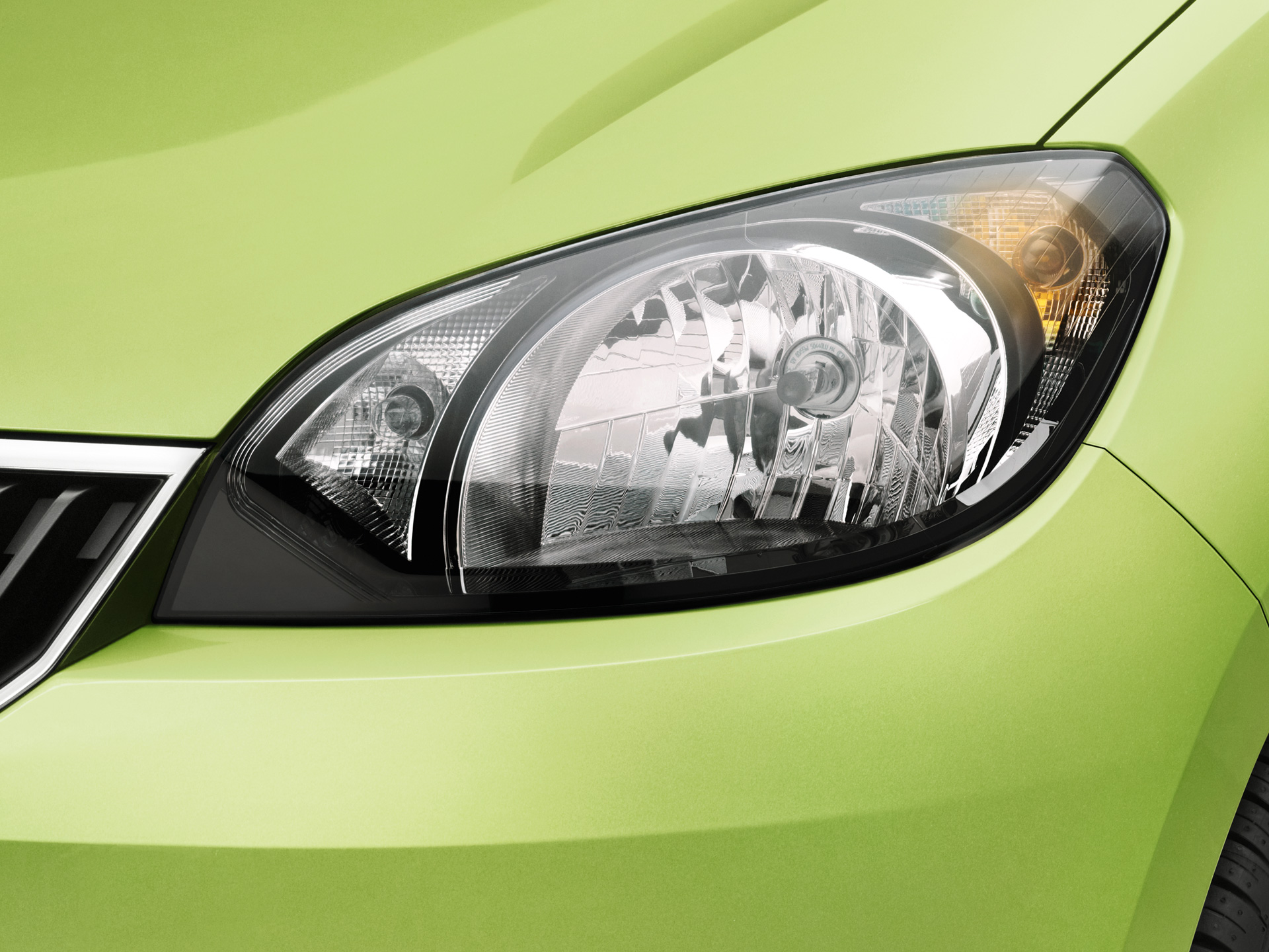 ŠKODA Citigo Headlamps