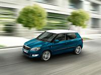 KODA Fabia different coloured roof