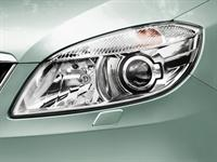 ŠKODA Fabia Main Headlamps with rotary function and Headlamp Washers