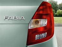 KODA Fabia Rear headlamps