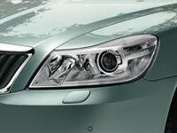 KODA Octavia Xenon Headlamps with rotary modules 