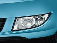 ŠKODA Praktik front fog headlamps with Corner function