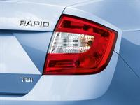 ŠKODA Rapid tail lights
