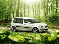Design ŠKODA Roomster GreenLine