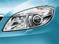 KODA Roomster Main Headlamps with rotary function and Headlamp Washers