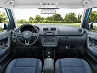 ŠKODA Roomster Dashboard and Multi-functional Steering Wheel