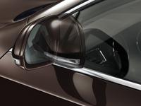 Automatically retractable external rearview mirrors