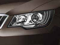 KODA Superb Bi-Xenon Headlamps with AFS