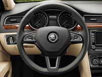 KODA Superb Multi-functional Leather Steering Wheel