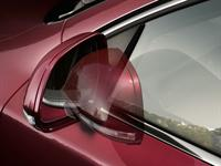 KODA Superb Automatically Retractable External Rearview Mirrors