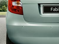 Acoustic rear parking sensors