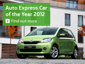 Auto Express Car of the Year 2012 award 