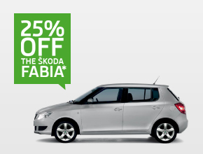 Fabia 25% off offer