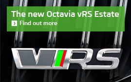 The new ­ŠKODA Octavia vRS Estate